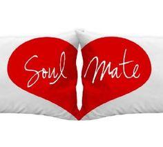 Soulmates Pillowcases Heart, Anniversary Gift Idea, Boyfriend Girlfriend Gifts