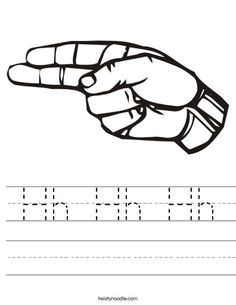 Sign Language Letter Worksheets  Perfect For Mia  Letters
