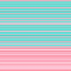 Aqua Pink Ombre Stripe Art Print