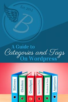 Everything to do with Categories and Tags on Wordpress. How to organize your blog and create great navigation! #EquippingBloggers