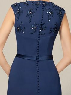Dresses - mother of the bride dress Navy Mother Of Groom Dresses, Mothers Dresses, Mother Of The Bride, Trendy Dresses, Casual Dresses, Fashion Dresses, Formal Dresses, Maxi Dresses, Prom Party Dresses
