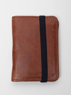 VEJA MEN'S ELASTICO LEATHER SMALL WALLET