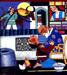 prodigal son painting modern - Google Search