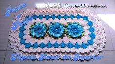 🌼Tapete amor do interior - DIY Crochet Flower Tutorial, Crochet Diy, Crochet Doily Patterns, Crochet Home Decor, Crochet Designs, Crochet Crafts, Crochet Doilies, Crochet Flowers, Crochet Projects