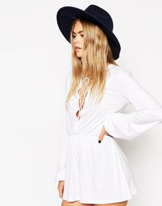 FEDORA WITH WIDE BRIM // BOUGHT ASOS