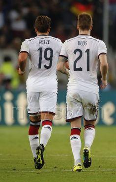 Mario Gotze and Marco Reus