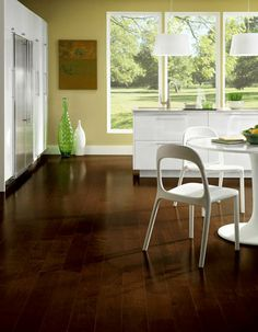 Hardwood Flooring, Cocoa Brown From Armstrong
