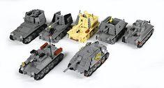 Lego Ww2, Lego Army, Lego Military, Military Vehicles, Lego Words, Cool Lego Creations, Lego Projects, Lego Stuff, Legos