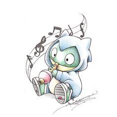itsbirdy pokemon drawings | drawing art pokemon cute tattoo amazing snorlax instagram crayola ...