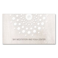 White Lotus Yoga and Meditation Teacher Health Spa Double-Sided Standard Business Cards (Pack Of 100). I love this design! It is available for customization or ready to buy as is. All you need is to add your business info to this template then place the order. It will ship within 24 hours. Just click the image to make your own!