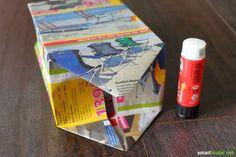 Les journaux et les dépliants publicitaires de déchets de papier?  Vous pouvez…