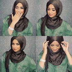 sohamt-hijab-tutorial- Tutorial hijab pesta simple http://www.justtrendygirls.com/tutorial-hijab-pesta-simple/