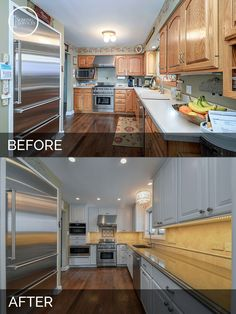 137 best before after kitchen remodeling projects images in 2019 rh pinterest com