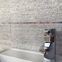 20x60cm Nimes Blanco feature tile by emgres | ceramic planet.co.uk
