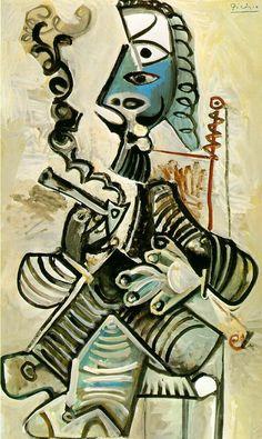 A La Pipe Pablo Picasso