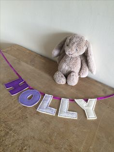 Personalised door bunting for Holly 💜