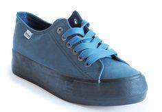 Creepers azul 19,90€ www.calzadospayma.com