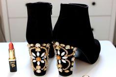 DIY Dolce & Gabbana Embellished Boots   Jodie Caughey
