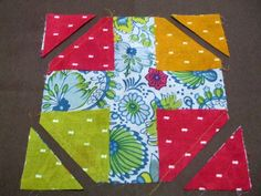 Cabbage Quilts: How to Make a Snowball
