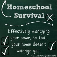 Effective Home Management - I like the idea of finding your trouble spot and having your management strategy revolve around that trouble spot.