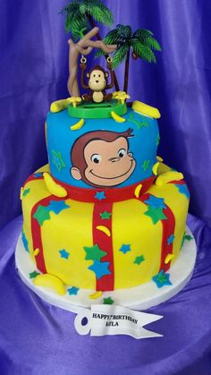Curious George Cake Curious George Cake The post Curious George Cake appeared first on Paris Disneyland Pictures. Curious George Cakes, Curious George Party, Curious George Birthday, Monkey Birthday, Cool Birthday Cakes, Birthday Party Themes, 2nd Birthday, Birthday Ideas, Curious George Halloween Costume