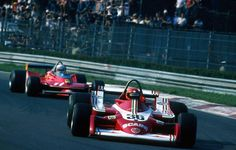 1979 GP Włoch (Monza) #36 Alfa Romeo 177 (Vittorio Brambilla) & #11 Ferrari 312T4 (Jody Scheckter)