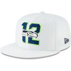 e3ce22ffdc7 Seattle Seahawks New Era 2019 NFL Draft Spotlight 9FIFTY Snapback  Adjustable Hat – White