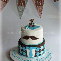 Mustache cake   Moustache cake