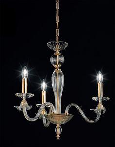OR Lampadario in vetro soffiato 108/3 c