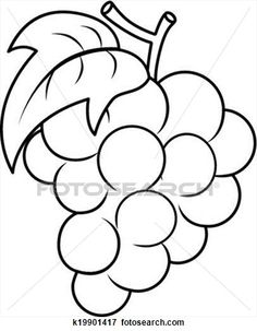 Coloring Page 2018 for Uvas Colorear, you can see Uvas Colorear and more pictures for Coloring Page 2018 at Children Coloring. Fruit Coloring Pages, Flower Coloring Pages, Coloring Books, Free Printable Puzzles, Fruit Clipart, Book Outline, Desktop Images, Water Into Wine, Fruit Party