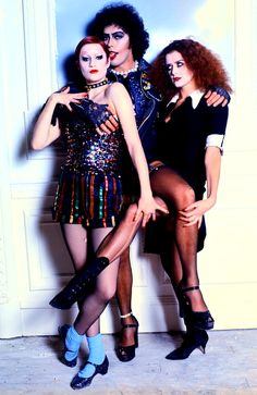 I was obsessed with this movie when I was younger. Rocky Horror Picture Show