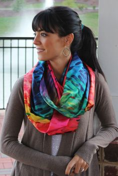 Infinity Scarf Tutorial (Kids and Adults) | Sweetest Bug Bows