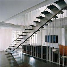 Escalera Moderna, gran diseño combinable.