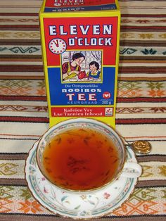 Nothing like the welcoming aroma of a cup of Rooibos -/ Redbush Tea from South Africa. Redbush Tea, Ovaltine, South African Recipes, African Culture, My Land, Herbal Tea, Refreshing Drinks, High Tea, Wine Recipes