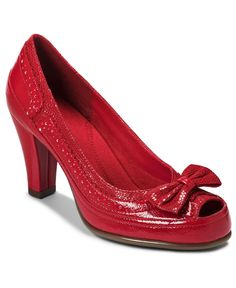 Aerosoles Shoes, Bentwood Pumps    Think: Dorothy, Wizard of Oz. Cool!