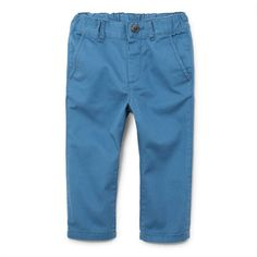 Toddler Boys Solid Skinny Chino Pants