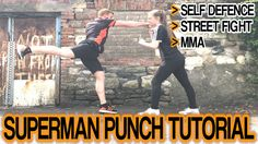 How to Superman Punch (Jump Punch) for Self Defence, Street Fight, MMA, etc | GNT Tutorial - YouTube