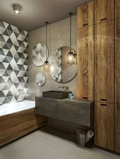 Latest Bathroom Designs, New Home Designs, Home Design Plans, Bathroom Interior Design, Interior Exterior, Interior Architecture, Modern Bathroom, Small Bathroom, Small Downstairs Toilet