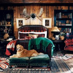 Full Floor of Layered Rugs  - CountryLiving.com