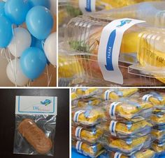 Such A Clever Idea For An Airplane Theme Birthday Party! Airplane Party Food, Airplane Baby Shower, Planes Birthday, Planes Party, Birthday Party Design, Birthday Party Themes, Birthday Ideas, Transportation Party, Party Decoration