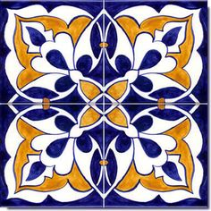 In Spain ceramic tiles are used for every thing.