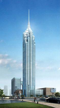Modern Media Center Changzou 332m – 57 floors