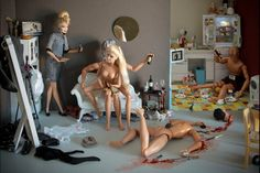 Killer Barbies by Mariel Clayton