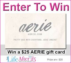 Bra Shopping Made Easy: Learn More About Aerie's Bra Guide and Enter for a chance to win a $25 #Aerie gift card! #sp