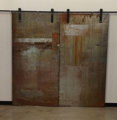1250 Industrial Metal Sliding DoorsArtfully Rogue | Artfully Rogue