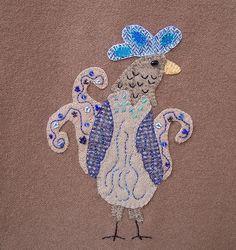 Urban Chickens  Applique Embroidery PDF by ThreeSheepStudio, $14.00