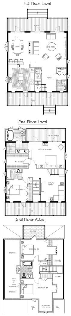 Floor plan to the perfect cottage~The Duval pinned previously. Beautiful Victorian for the beach or the Farm.