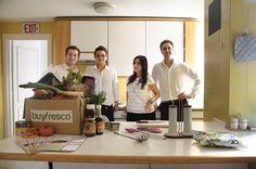 Acaba de nacer este nuevo modelo de alimentación en España, con nutricionistas y chefs expertos que nos envían la cesta de la compra y sus recetas a casa semanalmente con un solo 'click'. El proyecto responde al nombre de Buy Fresco y es una plataforma que... http://blogs.periodistadigital.com/elbuenvivir.php/2012/12/10/p324431#more324431