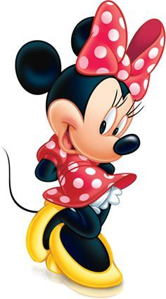 Pictures of minnie mouse in red dress