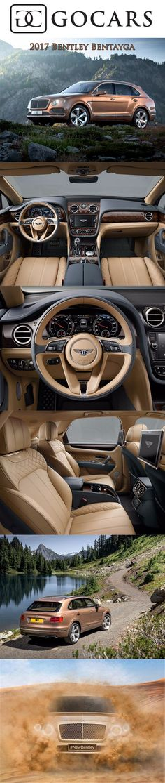 2017 Bentley Bentayga SUV I'm so happy and amazed with this design. And just Bentley coming out with an SUV